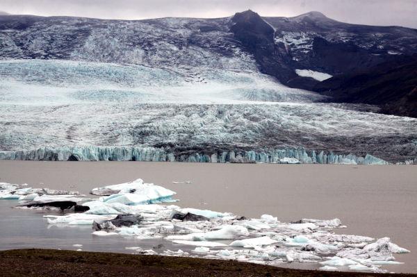 La fin d'un glacier