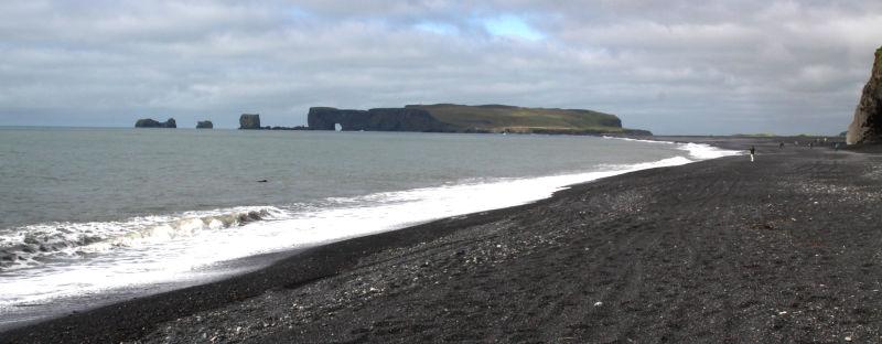 La plus au sud des côtes islandaises