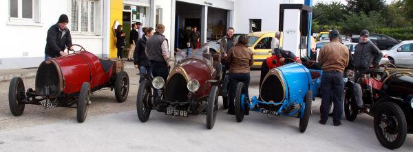 Mythiques Bugatti