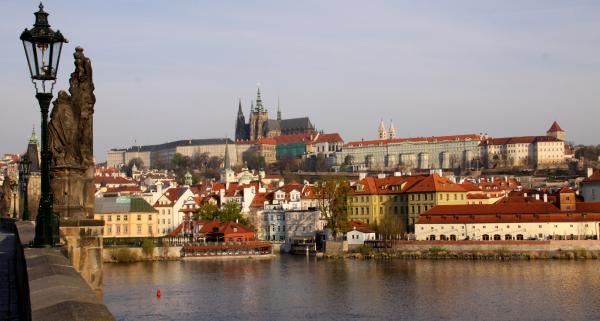 Prague (B4): Château et cathédrale