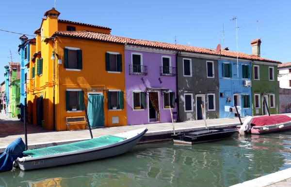 Burano, l'île aux mille couleurs