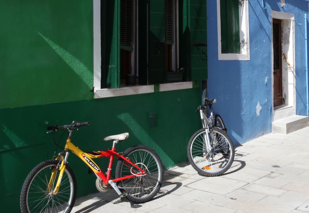Les vélos de Burano