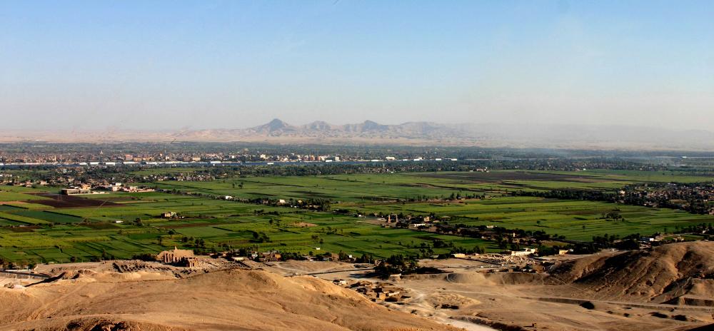 L'Egypte est un vaste oasis.