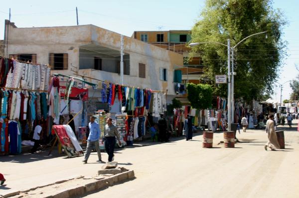 Au marché d'Edfou