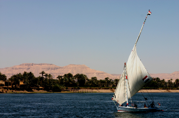 Régate sur le Nil!
