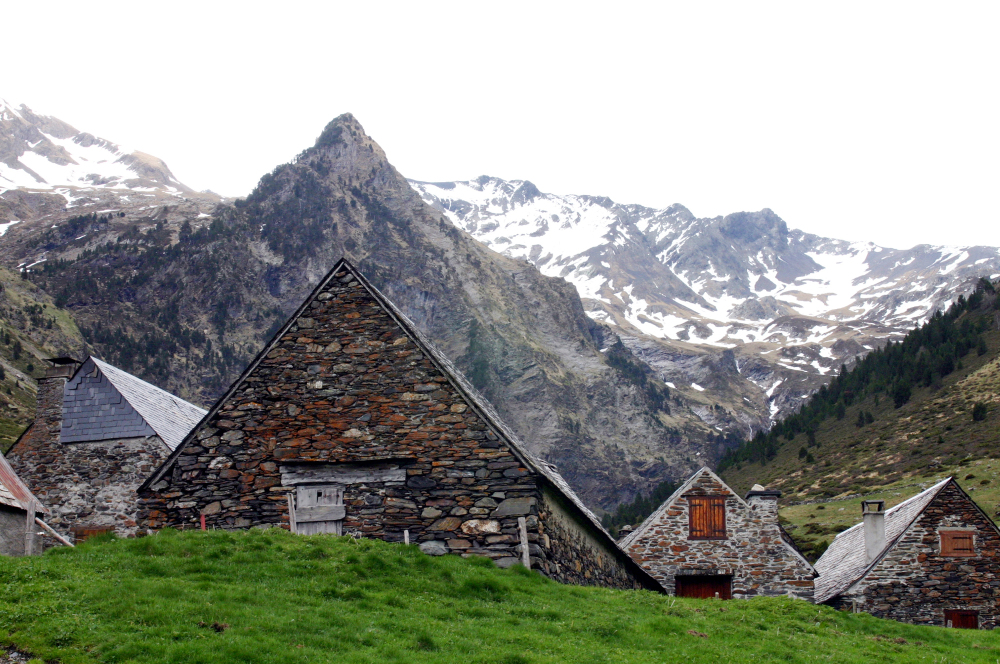 Granges du Moudang (Hautes Pyrénées)