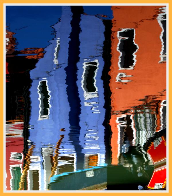 Les reflets de Burano