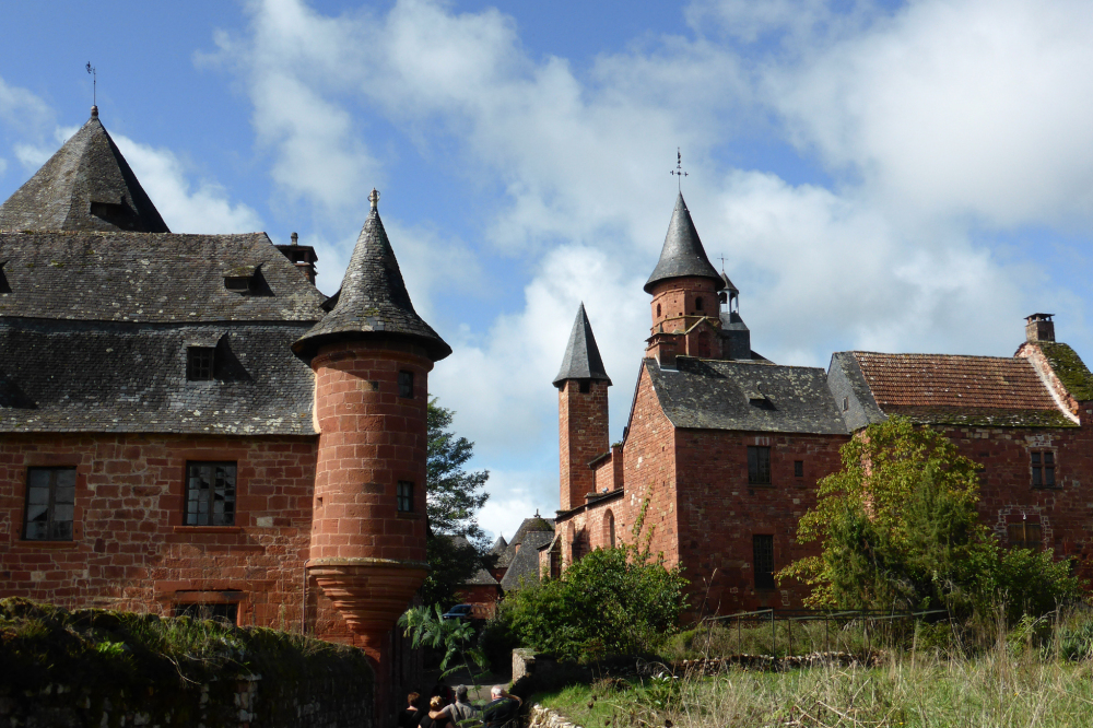 Un des plus beaux villages: Collonges-la-Rouge 3/6