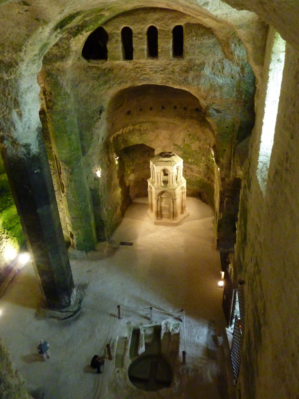L'église souterraine d'Aubeterre
