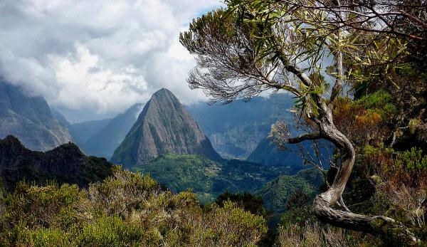 Le piton Cabri (La Réunion)