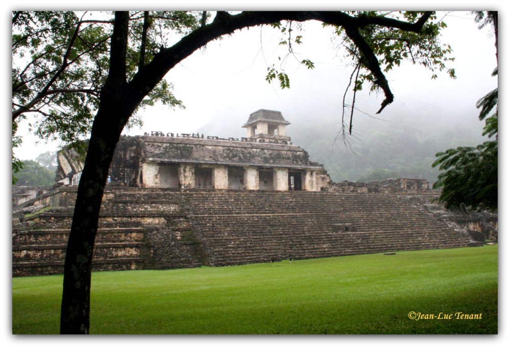 Mexique: site de Palenque