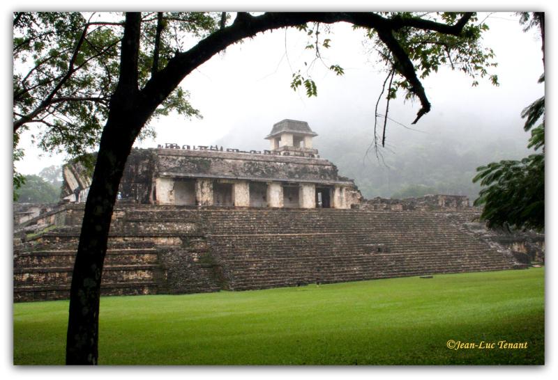 Mexique: site de Palenque