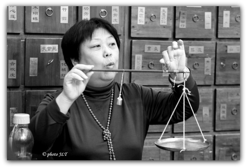 Pharmacienne Chinoise