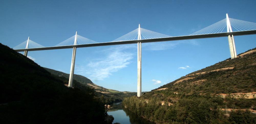 Le viaduc de Millau