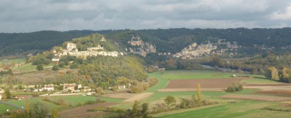 Marqueyssac et La Roque Gageac