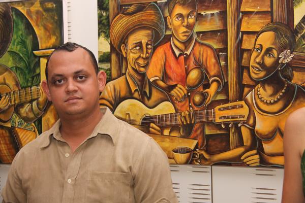 Julio la Mancha, artiste cubain