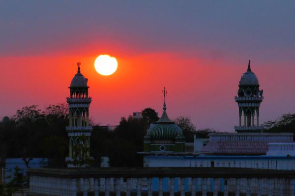 La mosquée Jama Masjid à Delhi