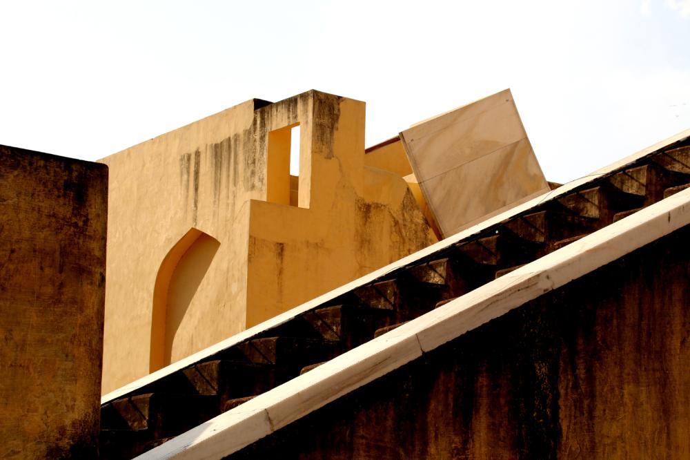 L'observatoire du Maharadjah Sawai Jai Singh II.