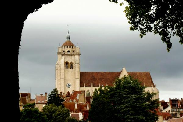 La cathédrale de Dole.