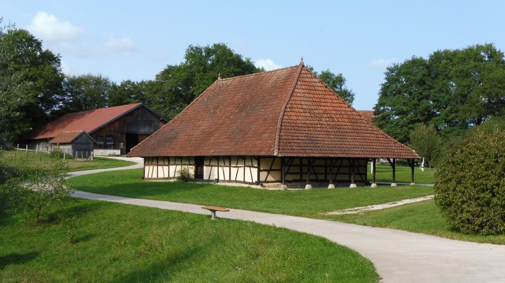 Habitat traditionnel de Franche-Comté