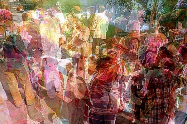 Fête des couleurs à Jaisalmer