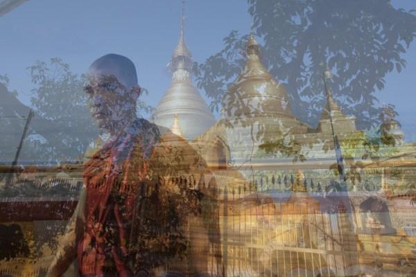 Le moine bouddhiste.