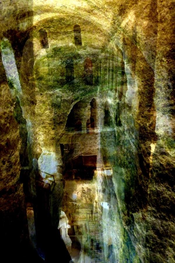 L'eglise souterraine d'Aubeterre-sur-Dronne