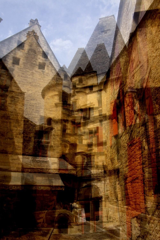 La vieille ville de Sarlat en Périgord