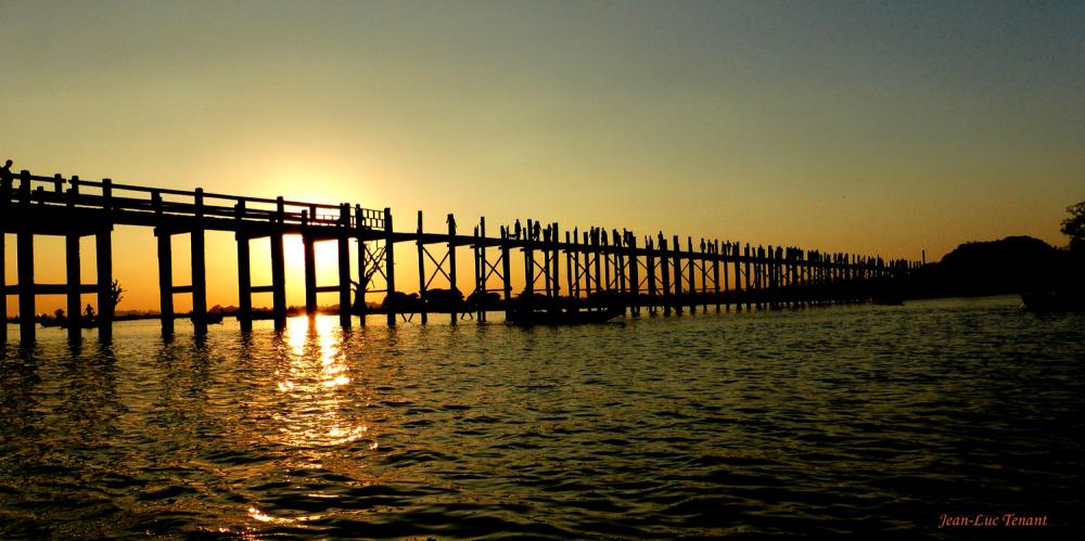 Soleil sur le pont U-Bein