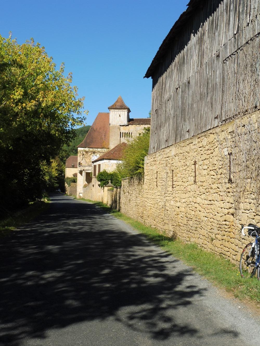 Le village de Berbiguière