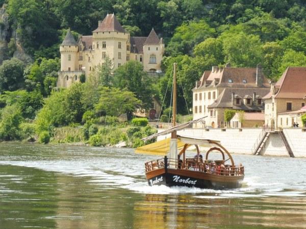 Une gabarre sur la Dordogne
