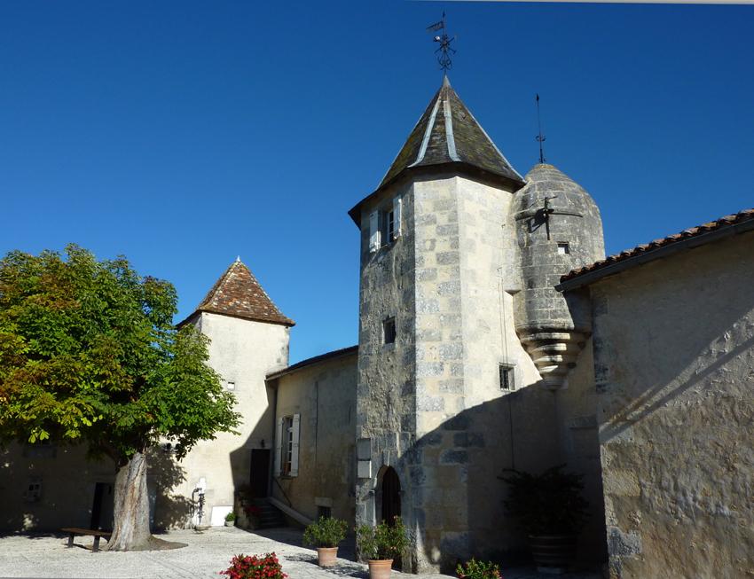Le château d'Alfred de Vigny en Charente