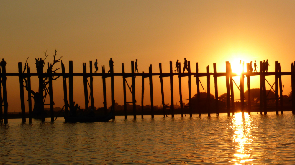 Le pont U-Bein au Myanmar