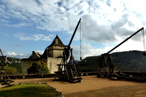 Château de Castenaud vallée de la Dordogne