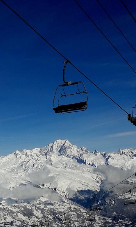 Le télésiège du Mont-Blanc