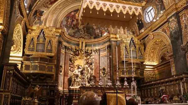 Cathédrale Saint-Jean de la Valette