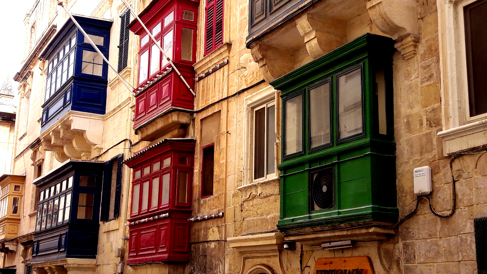 Les fenêtres de Valetta (2)