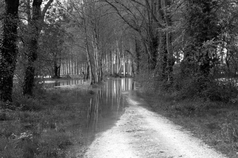 Route coupée.
