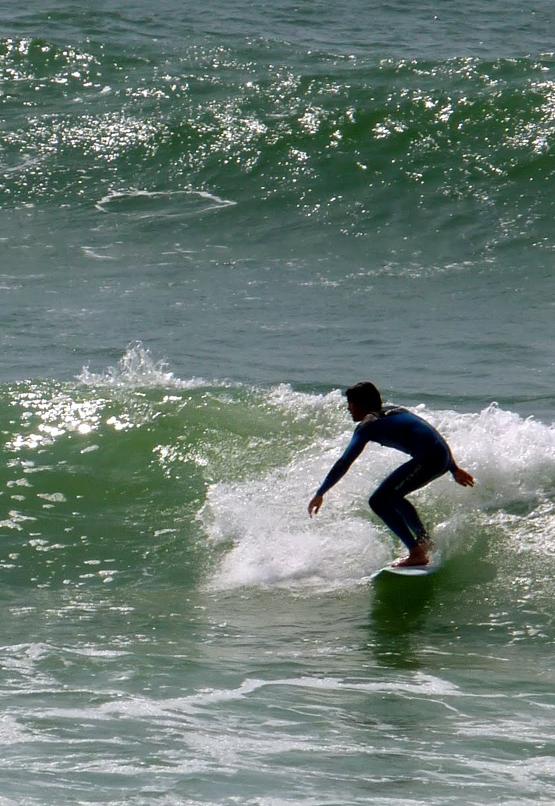 Petite vague mais bel équilibre