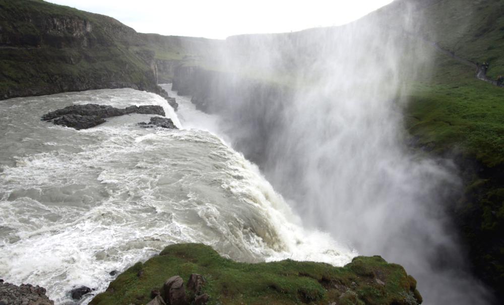 Impressionnante chute de Gulfoss