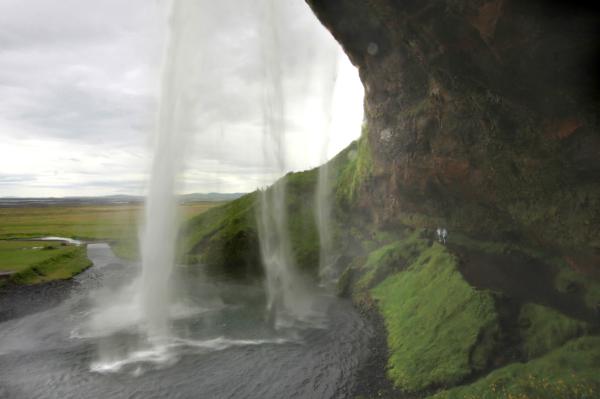 Le rideau d'eau de Seljaland