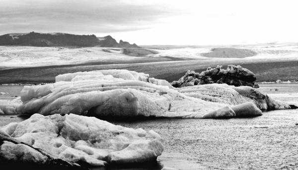Le lac glacé de Jökulsárlón