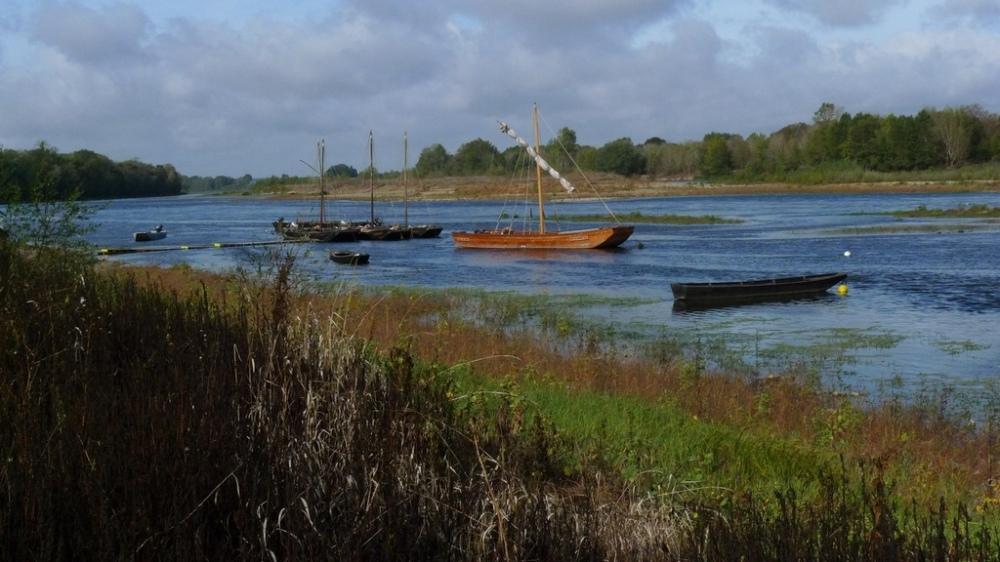Les barques de la Loire