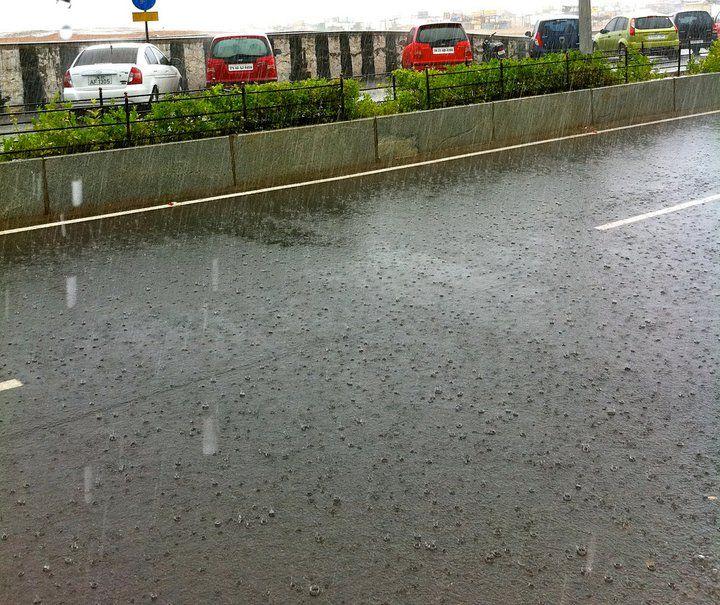 the rainy day...