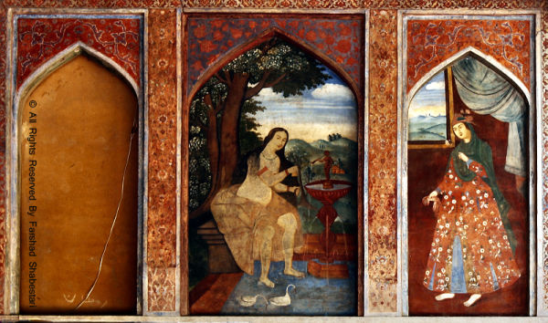 Painting On Chelsotun's Wall, Isfahan