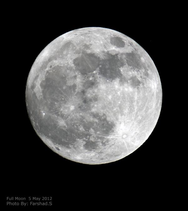 Full Moon  5 May 2012