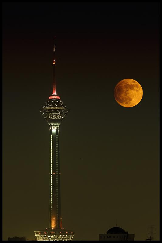 Penumbral eclipse Tehran, 28 Nov 2012
