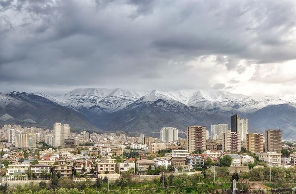 تهران٬ پس از باران