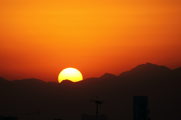 Sunrise, tehran