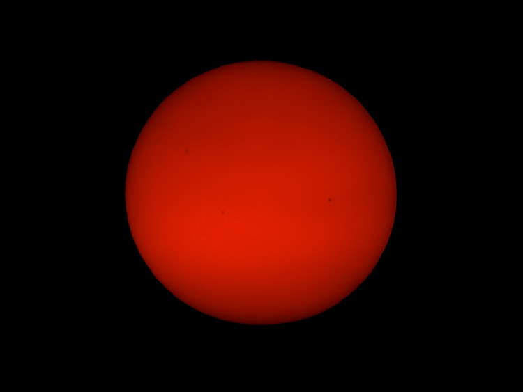 Sunspots 29 Dec 2014